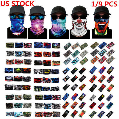 Headband Hair Band Headwrap Face Guard Bandana Neck Shield Gaiter Yoga Gym Scarf