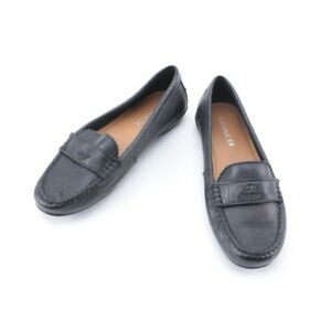 Brand New Condition Coach Leather Loafers
