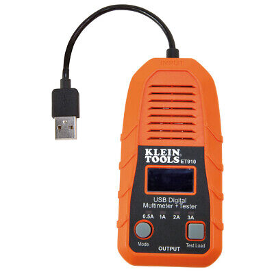 Klein Tools Et910 Usb Digital Meter And Tester Usb-a