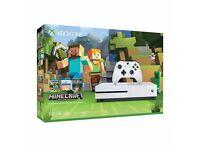 Xbox One S 500g Minecraft bundle (unused)