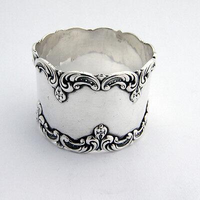Scroll Napkin Ring Gorham Sterling Silver