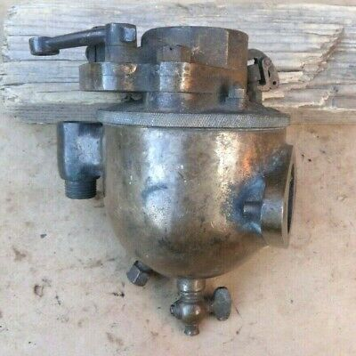 Early Brass Schebler Carburetor Original Vintage Tractor Large