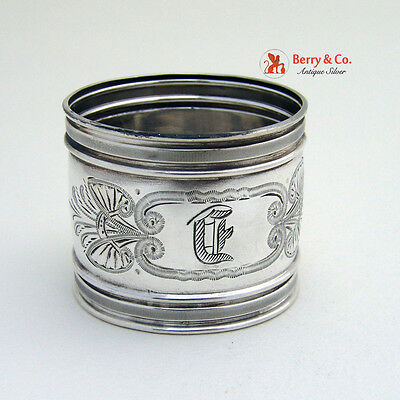 Napkin Ring Gorham Sterling Silver 1877