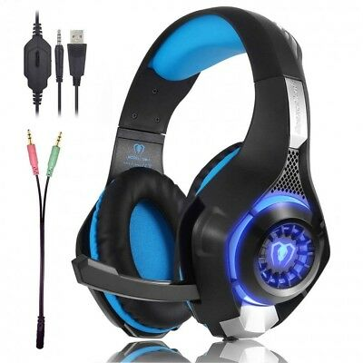Cheap Gaming Headset Best Pro Surround Sound Computer Xbox One Ps4 Pc