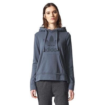 Adidas Originals Trefoil Hoody (adidas Originals Damen Hoodie Hoody Kapuzenpullover Trefoil Pullover)