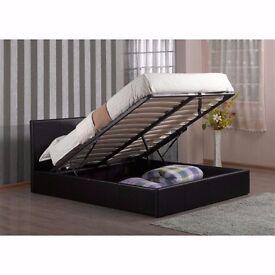 Double Ottoman Storage Bed 1000 POCKET SPRUNG Mattress -