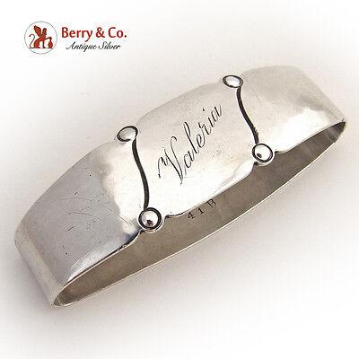 Napkin Ring Randahl Chicago 1930 Sterling Silver