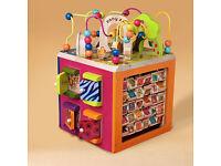 B. you Zany Zoo Wooden Activity Cube