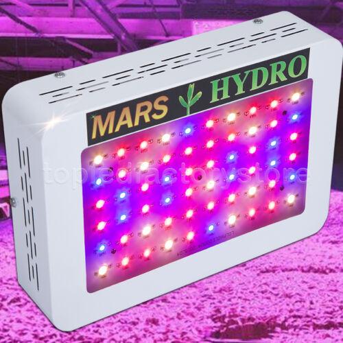 Mars 300W LED Grow Light Hydro Full Spectrum Hydroponic Indoor Veg Bloom Plant