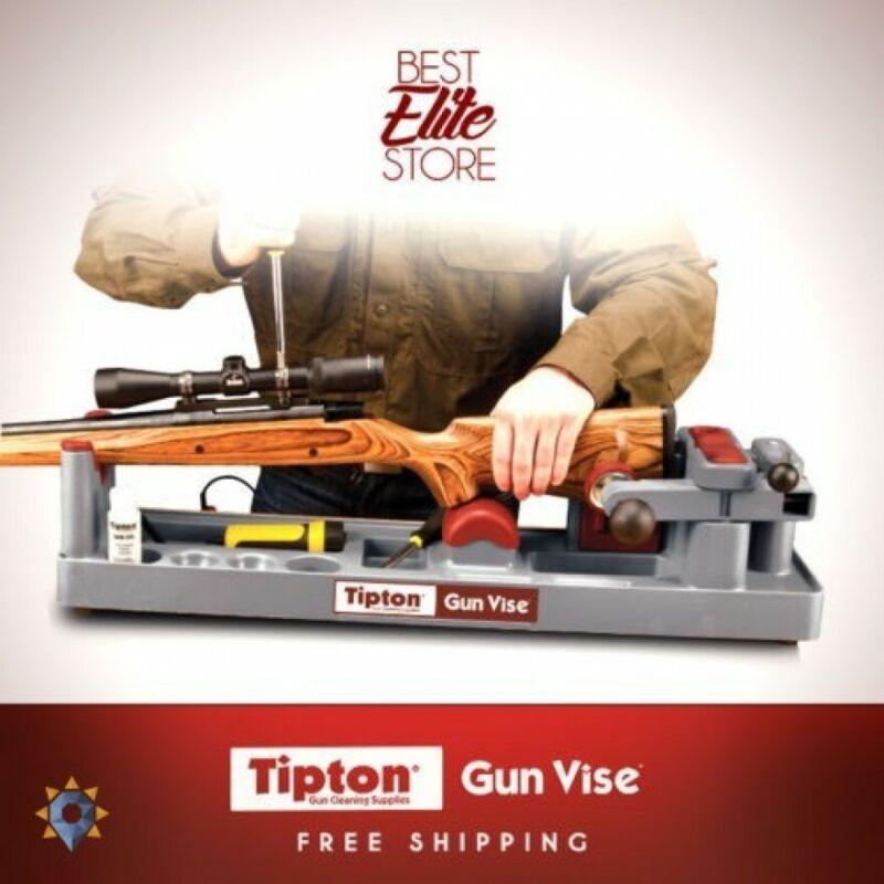 Rifle Gun Cleaning Kit Tipton Best Ultra Gun Vise Gunsmithing Tool Bench Repair