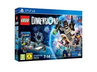 LEGO Dimensions PS4 Starter Pack: Exclusive Free Supergirl Figure: Brand New