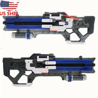 US SHIP Game OW Soldier 76 Custom Gun Weapon Halloween Cosplay Props In Box - Customes Halloween