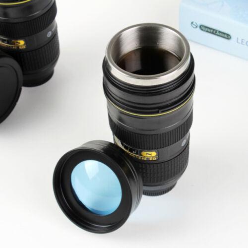 1:1 Camera 24-70mm f/2.8G ED Camera Lens Coffee Mug Stainles