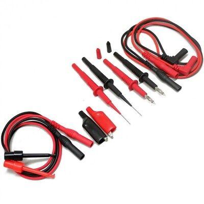 Lead Test Kit Fluke Multimeter Tl809 Tester Probe Set Banana Needle Electronic