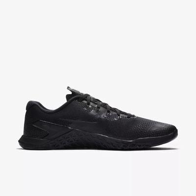 Nike Metcon 4 IV men training train gym crossfit shoes NEW black AH7453-001