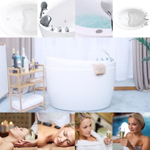 "Empava 48"" Air Jets Jacuzzi Massage Bathtub Acrylic SPA Stand Alone Tub JT011"
