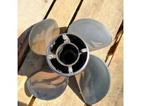 Mercury Revolution 4 Stainless Steel Boat Propeller 48-857030A46 23P