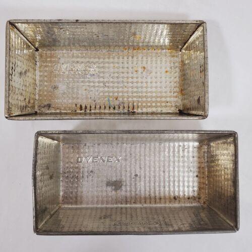 2 Vintage Ovenex Loaf Pants Waffle Check Ekco No 2
