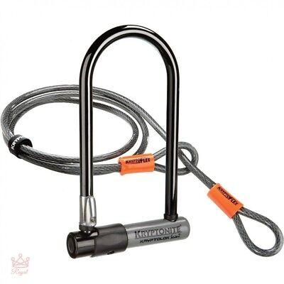 U-Lock Bicycle Lock Set Best Long Pro Bike Locks Heavy Duty Cable Standard