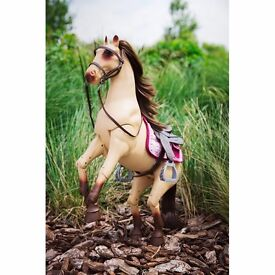 Our generation poseable legs horse rrp £40
