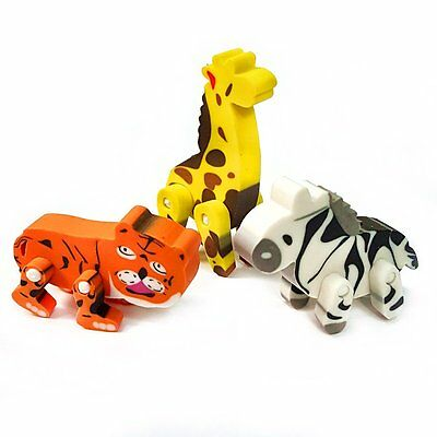 Jungle Birthday Ideas (30 Jungle Animal Erasers - Fun Pocket Money Filler Toys - Birthday - Gift)