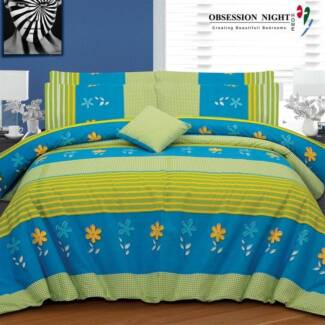 Obsession Night Bed Quilt Cover Set - Queen - Uncas RRP$129.95
