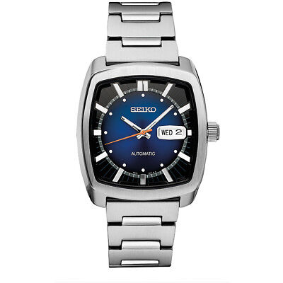 Seiko Mens Recraft Series Automatic Self-Winding Watch in Silver - SNKP23