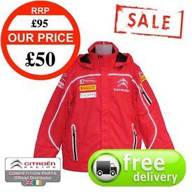SALE - New Mens Citroen Racing Premium Rain Jacket