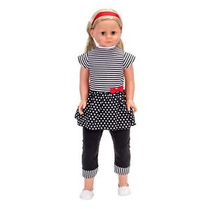 My Sweet Lil' Sister Doll Blonde -  LARGE LIFE SIZE  86cm DOLL - style hair  NEW