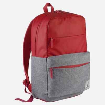 daa7acf357b Nike Air Jordan Pivot Backpack Laptop School Bag Red 9B0013-R78