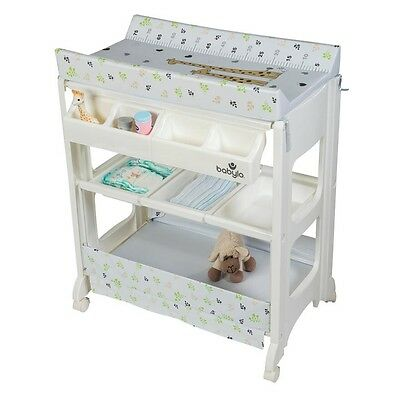 Babylo Savannah Giraffe Baby Changing Unit Bath Changer With Storage