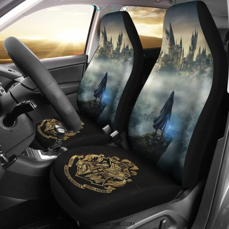 Harry Potter Car Car Seat Covers, Harry Potter Game Logo A121012  - $46.99