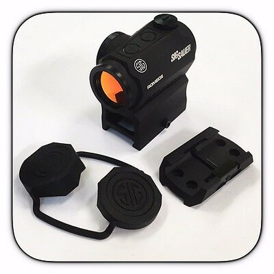 New Sig Sauer Romeo 5 Red Dot Sight 2 Moa Motac W  2 Risers Romeo5 Sor52001
