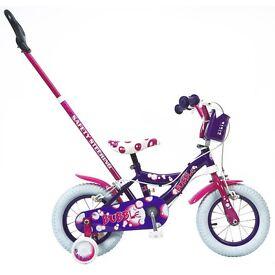 Young Girl Bike