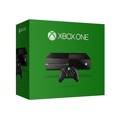 Microsoft Xbox One Console 500GB Black Backwards Compability Wi-Fi Xbox Live