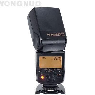 Yongnuo YN-568EX III TTL Flash Speedlite HSS for Nikon D7500 D5600 D5500 D3300 segunda mano  Embacar hacia Argentina