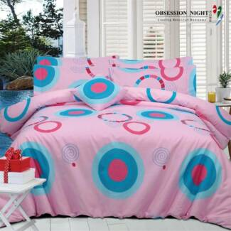 Obsession Night Bed Quilt Cover Set - Queen : Harpi RRP$129.95