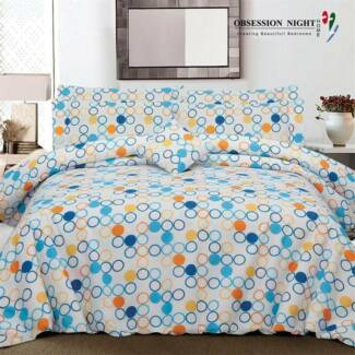 Obsession Night Bed Quilt Cover Set - Queen: Janna RRP$129.95