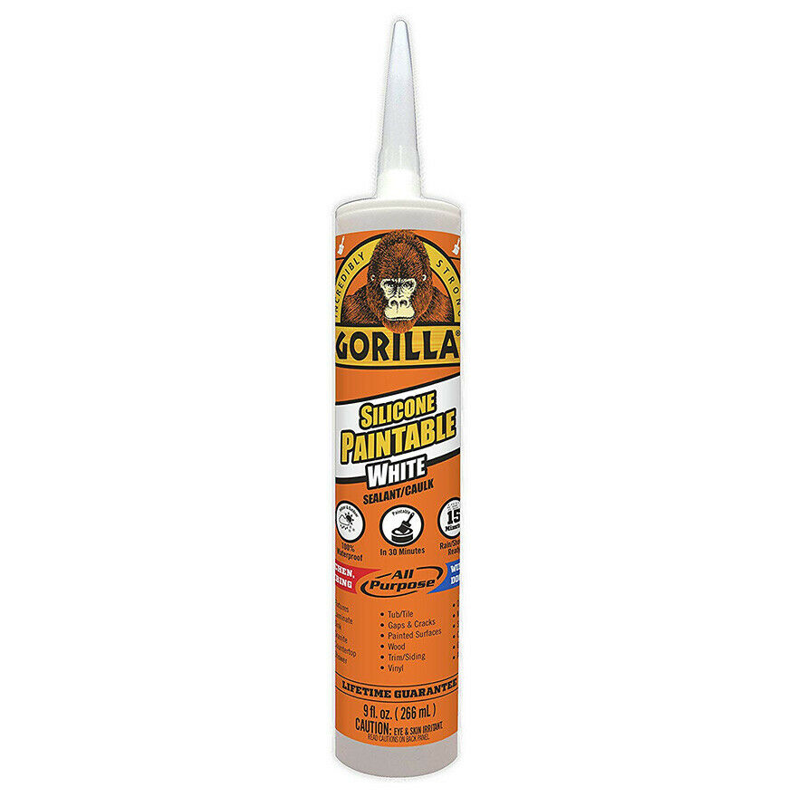 8070002 paintable silicone sealant 9 oz cartridge