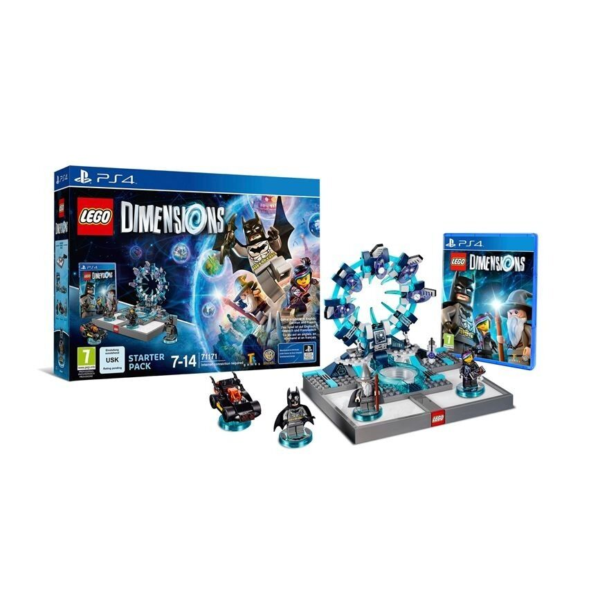LEGO Dimensions Starter Pack Playstation 4 PS4 BRAND NEW sealed box LONDONin Uxbridge, LondonGumtree - LEGO Dimensions Starter Pack Playstation 4 RRP £75 brand new in sealed box Suitable for the PS4. Included in the LEGO Dimensions Starter Pack; LEGO Dimenions Video Game, LEGO Toy Pad, Bricks to build the LEGO Gateway, 3 LEGO minifigures Batman,...