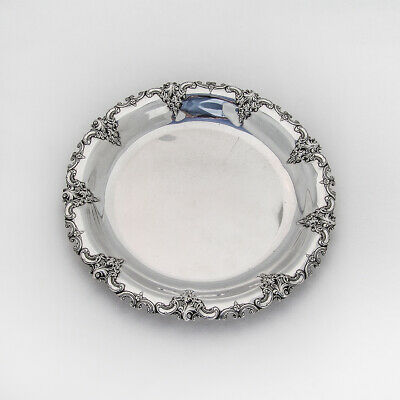 """Heavy Sterling Silver WALLACE 1941 GRANDE BAROQUE 7 1//2/"""" Place Fork 70 grams"""