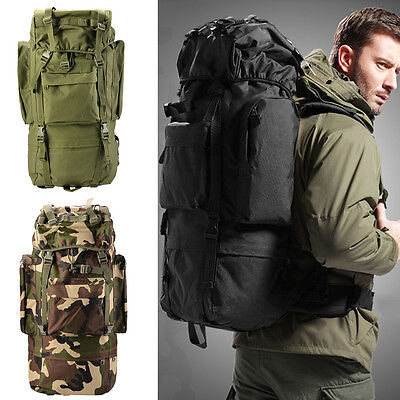 30LOutdoor Military Tactical Backpack Rucksack Sport Camping Hiking Trekking Bag