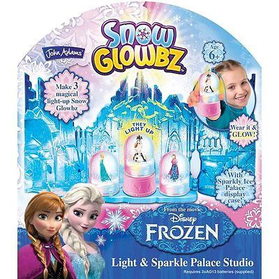 New! Disney Frozen Snow Glowbz Light & Sparkle Palace - Snow Glowbz