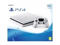 Sony PlayStation PS4 Slim 500GB Console - Glacier White