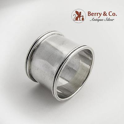 Napkin Ring Sterling Silver Gorham Silversmiths Monogrammed WDVB