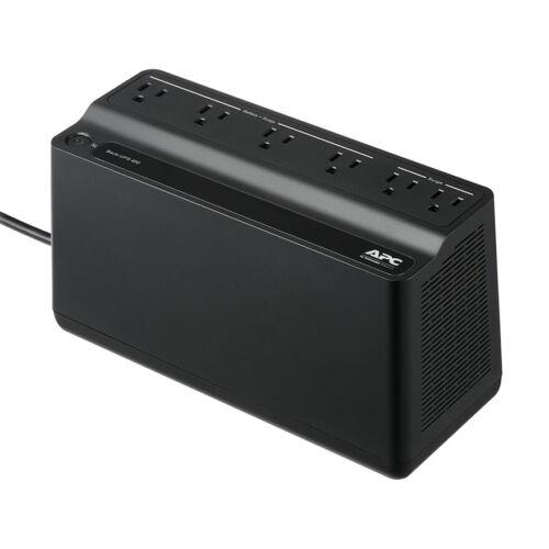 APC BN450M Back-UPS 120V 6-Outlet 450VA Battery Backup & Surge Protector