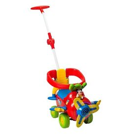 4 in 1 Mickey Plane Activity Ride On cost was £59.99