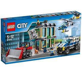 Lego 60140 police helicopter minifigures boys toys