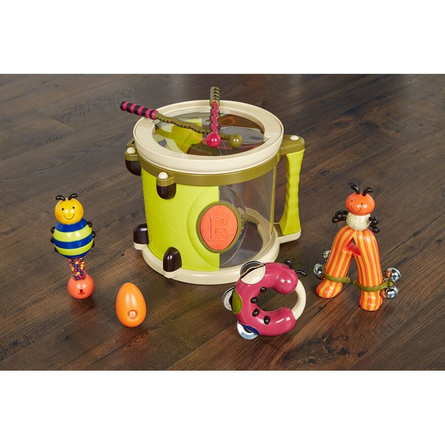 Toy Drum Musical Instruments : B parum pum drum and other musical instruments toy