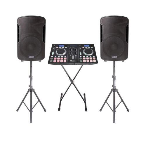 Edison Professional DJPRO 8000+ Mobile DJ System All-in-1 Box